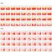 Красненькие иконки, иллюстрация № 29814 (c) Дмитрий Трубников / Фотобанк Лори