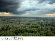Купить «Тайга с высоты птичьего полета. Север Томской области.», фото № 32978, снято 9 августа 2005 г. (c) Владимир Мельников / Фотобанк Лори