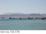 Купить «Вид на море, яхты, горы», фото № 33174, снято 10 февраля 2007 г. (c) Golden_Tulip / Фотобанк Лори
