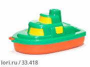 Купить «Игрушечный кораблик», фото № 33418, снято 16 апреля 2007 г. (c) Угоренков Александр / Фотобанк Лори