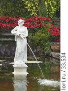 Купить «Скульптура женщины в парке», фото № 33534, снято 31 декабря 2006 г. (c) Блинова Ольга / Фотобанк Лори