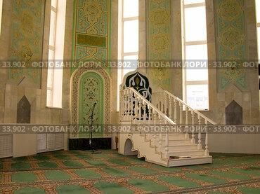 Купить «Соборная мечеть г. Нижнекамск», фото № 33902, снято 3 декабря 2006 г. (c) Кучкаев Марат / Фотобанк Лори