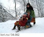 Купить «Зимние забавы», фото № 34082, снято 19 февраля 2005 г. (c) 1Andrey Милкин / Фотобанк Лори