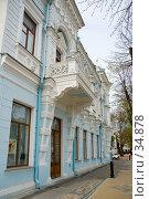 Купить «Краснодар: старинное здание», эксклюзивное фото № 34878, снято 26 марта 2019 г. (c) SummeRain / Фотобанк Лори