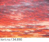 Купить «Горящее небо», фото № 34890, снято 7 декабря 2006 г. (c) Владислав Грачев / Фотобанк Лори