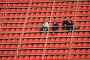 Футбол. Пустая трибуна, фото № 35834, снято 25 апреля 2007 г. (c) 1Andrey Милкин / Фотобанк Лори