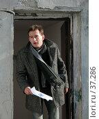 Купить «Актёр Константин Хабенский», фото № 37286, снято 18 марта 2006 г. (c) Сергей Лаврентьев / Фотобанк Лори