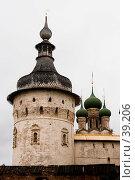 Купить «Башня Ростовского Кремля», фото № 39206, снято 10 августа 2006 г. (c) Vladimir Fedoroff / Фотобанк Лори