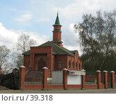 Купить «Мечеть Орехово-Зуево», фото № 39318, снято 5 мая 2007 г. (c) Иван / Фотобанк Лори