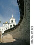 Купить «Псков, Кремль», фото № 39494, снято 6 июля 2006 г. (c) Владимир Мельник / Фотобанк Лори