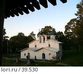 Купить «Псков, церковь», фото № 39530, снято 16 сентября 2006 г. (c) A Челмодеев / Фотобанк Лори