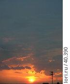 Купить «Закат», фото № 40390, снято 22 июня 2006 г. (c) Рамиль / Фотобанк Лори