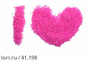 "Купить «Надпись ""I love""», фото № 41198, снято 5 мая 2007 г. (c) Валерия Потапова / Фотобанк Лори"