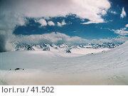 Купить «Эльбрус, склон», фото № 41502, снято 20 февраля 2020 г. (c) Александр Демшин / Фотобанк Лори