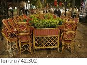 Кафе в Париже (2007 год). Стоковое фото, фотограф Федюнин Александр / Фотобанк Лори