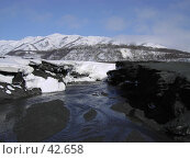 Купить «Речка ранней весной», фото № 42658, снято 30 апреля 2007 г. (c) Maxim Kamchatka / Фотобанк Лори