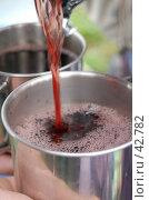 Купить «Красное вино льется в кружку», фото № 42782, снято 12 мая 2007 г. (c) Golden_Tulip / Фотобанк Лори