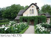 Купить «Домик в деревне», эксклюзивное фото № 43770, снято 9 мая 2007 г. (c) Юлия Кузнецова / Фотобанк Лори