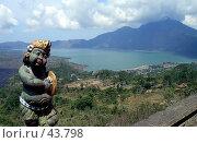 Купить «Вулкан Кинтамани на острове Бали в Индонезии», эксклюзивное фото № 43798, снято 10 ноября 2004 г. (c) Татьяна Белова / Фотобанк Лори