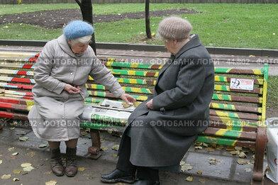 Купить «Бабушки-доминошницы», эксклюзивное фото № 44802, снято 22 октября 2006 г. (c) Ирина Терентьева / Фотобанк Лори