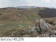 Купить «Крым, Караби», фото № 45270, снято 26 апреля 2006 г. (c) Андрюхина Анастасия / Фотобанк Лори