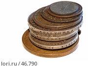Купить «Монеты», эксклюзивное фото № 46790, снято 12 июня 2006 г. (c) Знаменский Олег / Фотобанк Лори