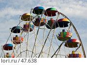 Купить «Колесо обозрения», фото № 47638, снято 28 мая 2007 г. (c) Михаил Браво / Фотобанк Лори