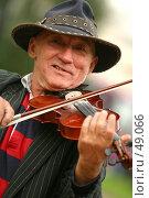 Уличный музыкант. Редакционное фото, фотограф Морозова Татьяна / Фотобанк Лори