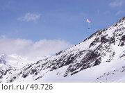 Купить «Полет над альпами», фото № 49726, снято 19 августа 2018 г. (c) Соснина Светлана / Фотобанк Лори