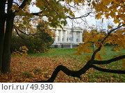 Купить «Санкт-Петербург, Елагин дворец», фото № 49930, снято 15 октября 2005 г. (c) Александр Секретарев / Фотобанк Лори