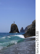 Скала Святого Явления (2007 год). Стоковое фото, фотограф Михаил Баевский / Фотобанк Лори