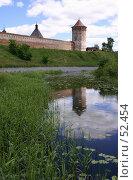 Купить «Суздаль. Стена и башни Спасо-Евфимиева монастыря», фото № 52454, снято 11 июня 2007 г. (c) Julia Nelson / Фотобанк Лори
