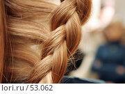 Купить «Фрагмент женской прически», фото № 53062, снято 30 октября 2006 г. (c) Чермянина Мария / Фотобанк Лори