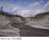 Купить «Русло горной реки», фото № 53682, снято 10 июня 2007 г. (c) Maxim Kamchatka / Фотобанк Лори