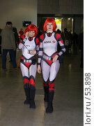 Купить «Космические девушки», фото № 53898, снято 13 апреля 2007 г. (c) Смирнова Лидия / Фотобанк Лори