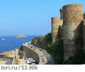 Купить «Крепость в Тосса де Мар», эксклюзивное фото № 53906, снято 29 сентября 2006 г. (c) Журавлев Андрей / Фотобанк Лори