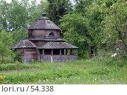 Деревянная церковь. Стоковое фото, фотограф Борис Никитин / Фотобанк Лори