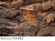 Купить «Оранжевые натеки на серой скале», фото № 54682, снято 4 июля 2007 г. (c) Eleanor Wilks / Фотобанк Лори