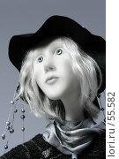 """Купить «Кукла """"В осеннем дожде есть особый минор..."""", портрет», фото № 55582, снято 18 марта 2007 г. (c) Сергей Лешков / Фотобанк Лори"""