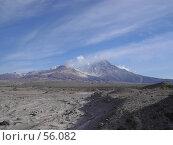 Купить «Вулкан Шивелуч», фото № 56082, снято 11 июня 2007 г. (c) Maxim Kamchatka / Фотобанк Лори