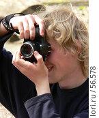 Купить «Фотограф», фото № 56578, снято 1 мая 2007 г. (c) Чермянина Мария / Фотобанк Лори