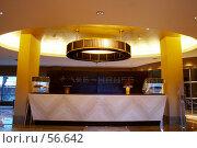 Купить «Интерьер. ресепшн», фото № 56642, снято 12 октября 2006 г. (c) Ирина Мойсеева / Фотобанк Лори