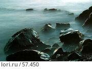 Купить «Камни в тумане», фото № 57450, снято 3 августа 2004 г. (c) Морозова Татьяна / Фотобанк Лори
