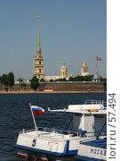 Купить «Санкт-Петербург, Вид на Петропавловскую крепость», фото № 57494, снято 6 июня 2007 г. (c) Александр Секретарев / Фотобанк Лори