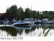 Купить «Прогулка на катере», эксклюзивное фото № 59170, снято 1 июля 2007 г. (c) Natalia Nemtseva / Фотобанк Лори