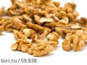 Купить «Грецкие орехи крупным планом», фото № 59838, снято 5 июля 2007 г. (c) Угоренков Александр / Фотобанк Лори