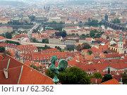Купить «Панорама Праги», фото № 62362, снято 9 июля 2007 г. (c) Юлия Перова / Фотобанк Лори