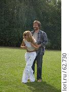 Купить «Счастливая семья», фото № 62730, снято 24 июня 2007 г. (c) Сергей Байков / Фотобанк Лори