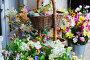 У цветочного магазина, фото № 64450, снято 26 октября 2016 г. (c) Лифанцева Елена / Фотобанк Лори
