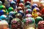 Разноцветные матрёшки, фото № 64846, снято 16 июля 2007 г. (c) Parmenov Pavel / Фотобанк Лори
